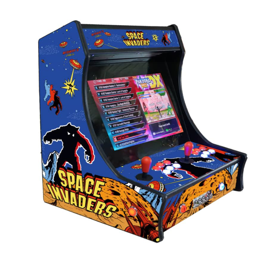 Space Invaders Style - 19 Inch Bartop - 2992 in 1