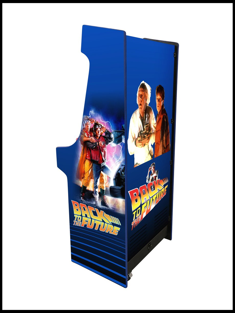 Back to the future - 27 Inch Upright Arcade Cabinet - 1300 in 1