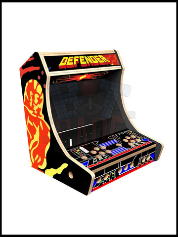 Defender Artwork - Bartop