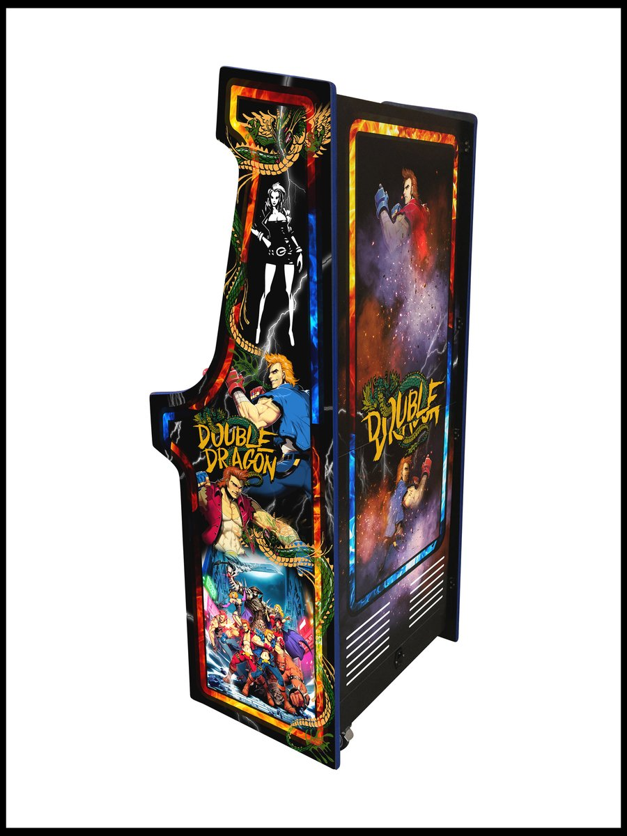 Double Dragon - 27 Inch Upright Arcade Cabinet - 960 in 1