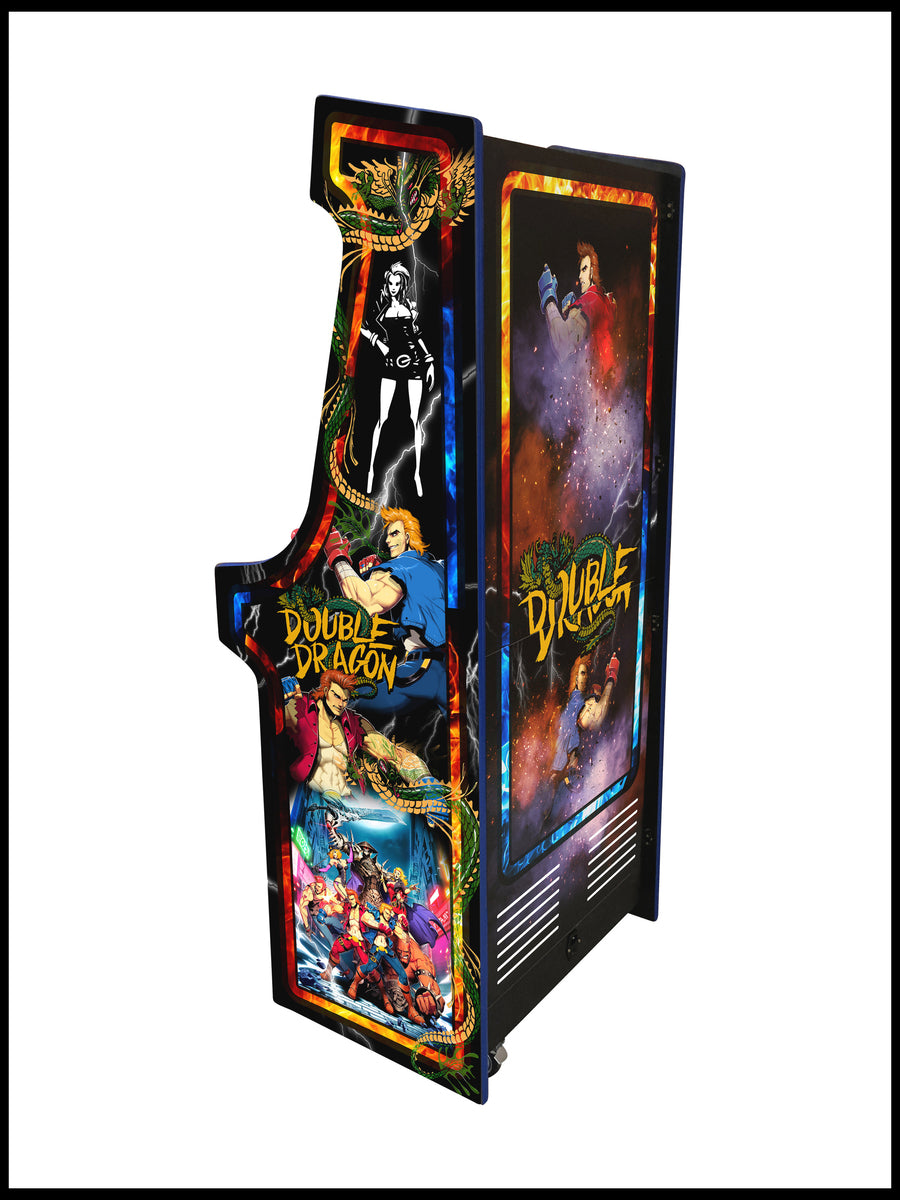 Double Dragon - 27 Inch Upright Arcade Cabinet