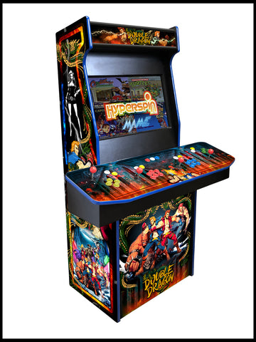 Double Dragon - 4 Player 27 Inch Upright Arcade Cabinet