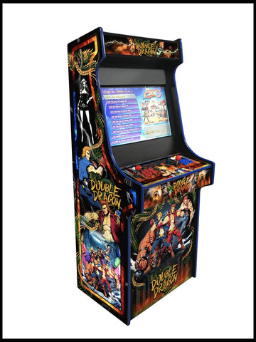 Double Dragon - 27 Inch Upright Arcade Cabinet - 1300 in 1