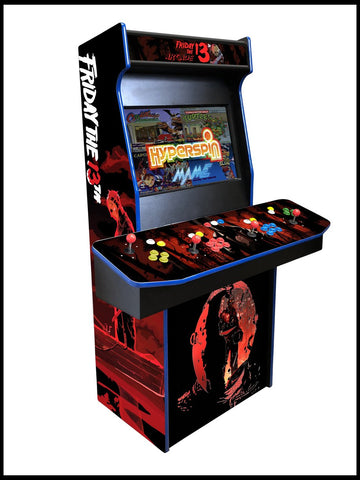 Friday the 13th - 4 Player 27 Inch Upright Arcade Cabinet