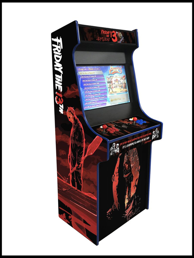 Friday the 13th - 27 Inch Upright Arcade Cabinet - 960 in 1