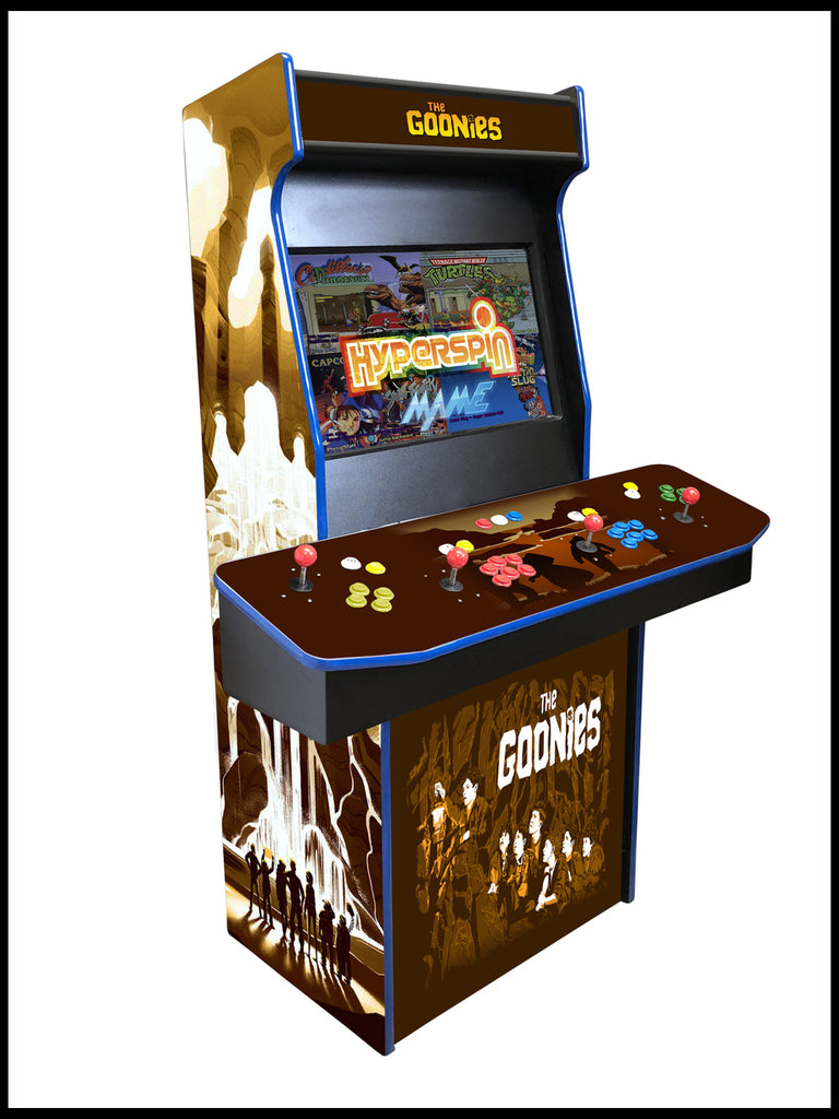Goonies - 4 Player 27 Inch Upright Arcade Cabinet
