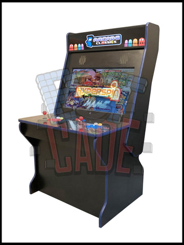 Black - 2 Player 32 Inch Sit down Arcade Cabinet