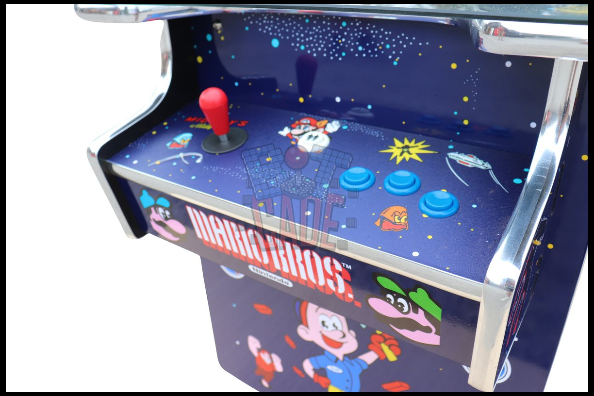 Space Invaders Style Cocktail Arcade Table - 60 in 1