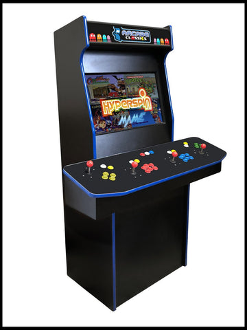 Black - 4 Player 27 Inch Upright Arcade Cabinet