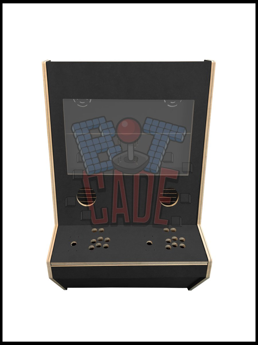 Bitcade - 2 Player Wall mountable Cabinet