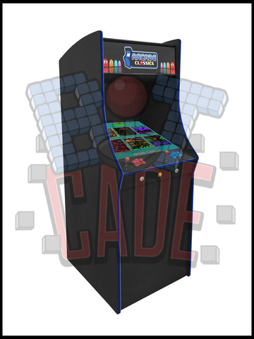 22 Inch Galaga Style Arcade Cabinet - 60 in 1