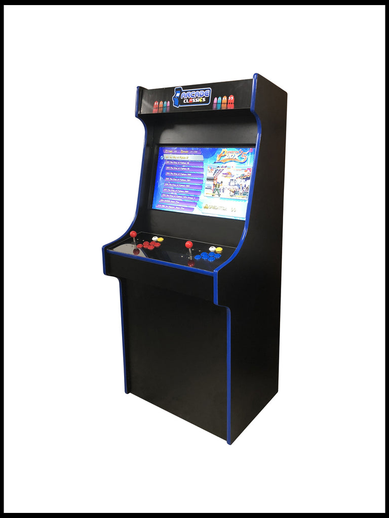 Black - 27 Inch Upright Arcade Cabinet - 960 in 1