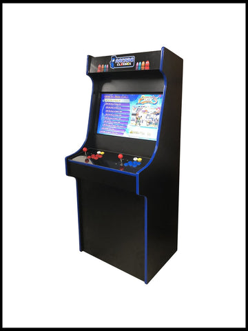 Black - 27 Inch Upright Arcade Cabinet - 1300 in 1
