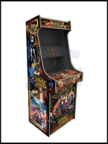 Double Dragon Artwork - 2 Player Full Size Cabinet