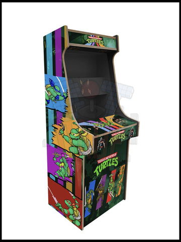 TMNT Artwork - 2 Player Full Size Cabinet