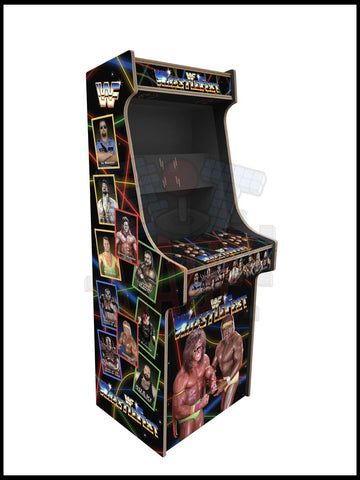 Wrestfest Artwork - 2 Player Full Size Cabinet