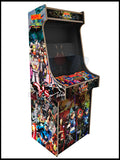 Marvel vs Capcom Artwork - 2 Player Full Size Cabinet