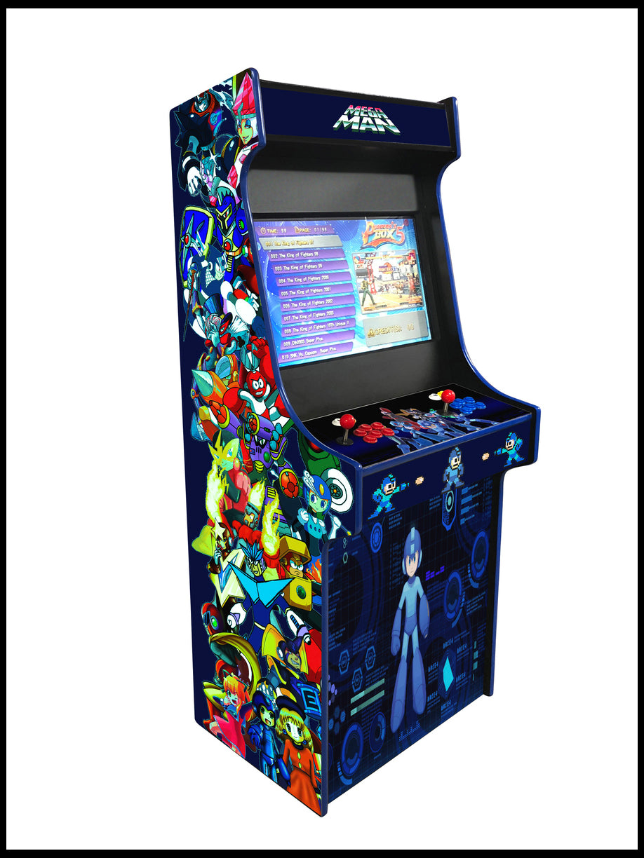 Megaman -  27 Inch Upright Arcade Cabinet - 1300 in 1