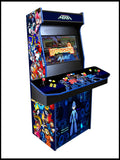 Megaman - 4 Player 27 Inch Upright Arcade Cabinet