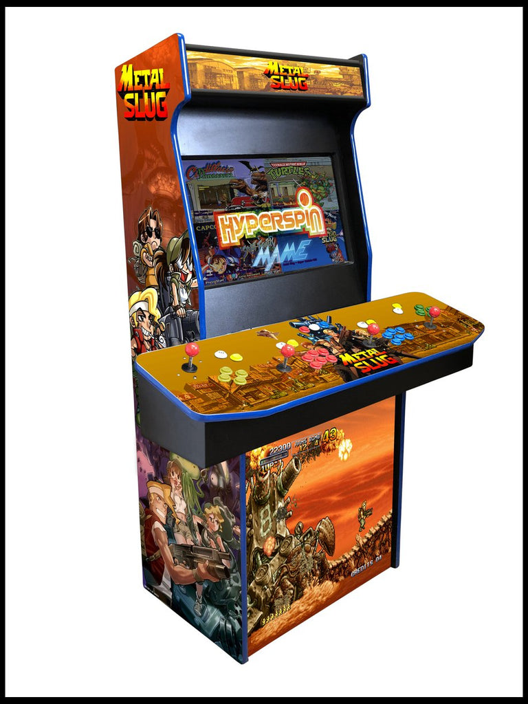 Metal Slug - 4 Player 27 Inch Upright Arcade Cabinet