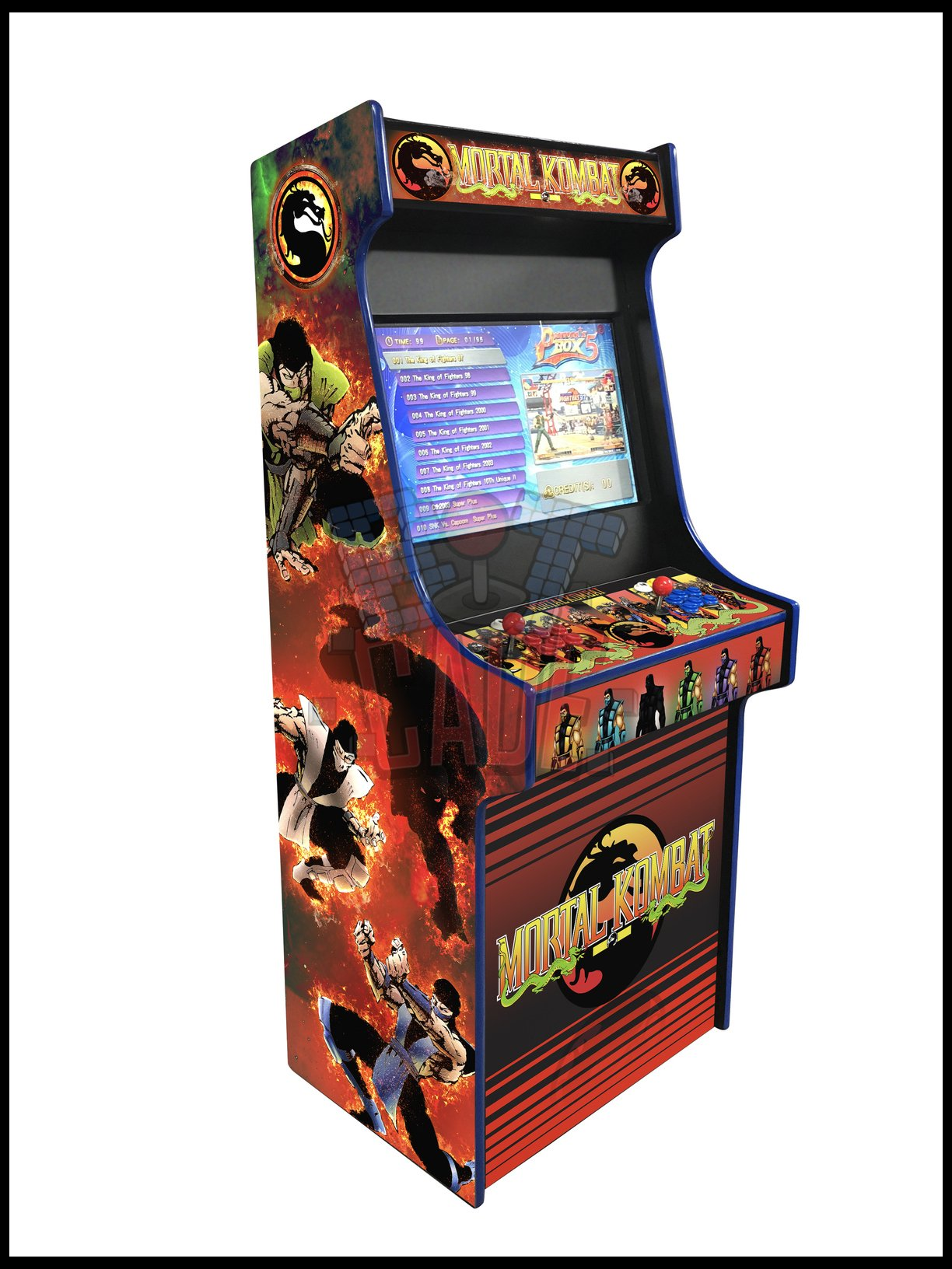 Mortal Kombat - 27 Inch Upright Arcade Cabinet - 1300 in 1