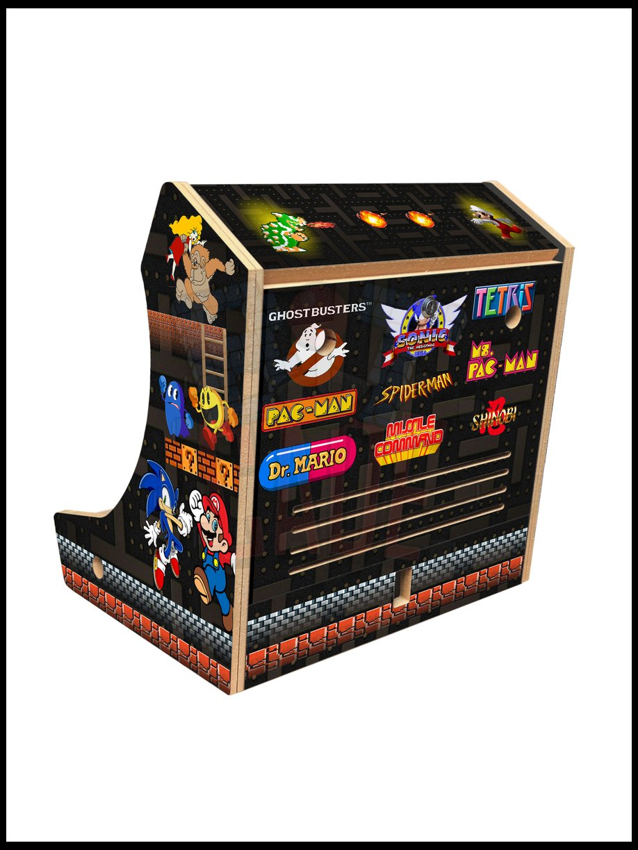 Multicade Artwork - Bartop