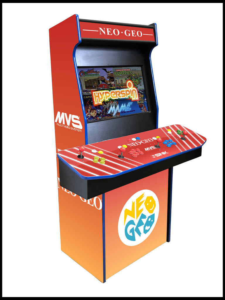Neo Geo - 4 Player 27 Inch Upright Arcade Cabinet