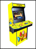 Pac-man  - 4 Player 27 Inch Upright Arcade Cabinet