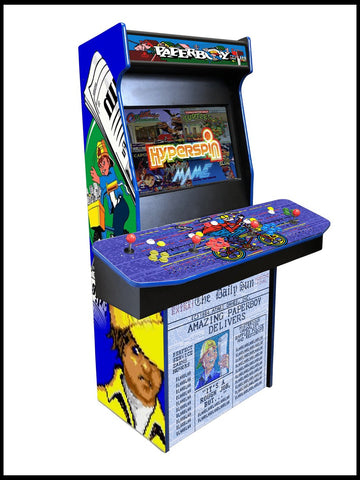 Paperboy - 4 Player 27 Inch Upright Arcade Cabinet