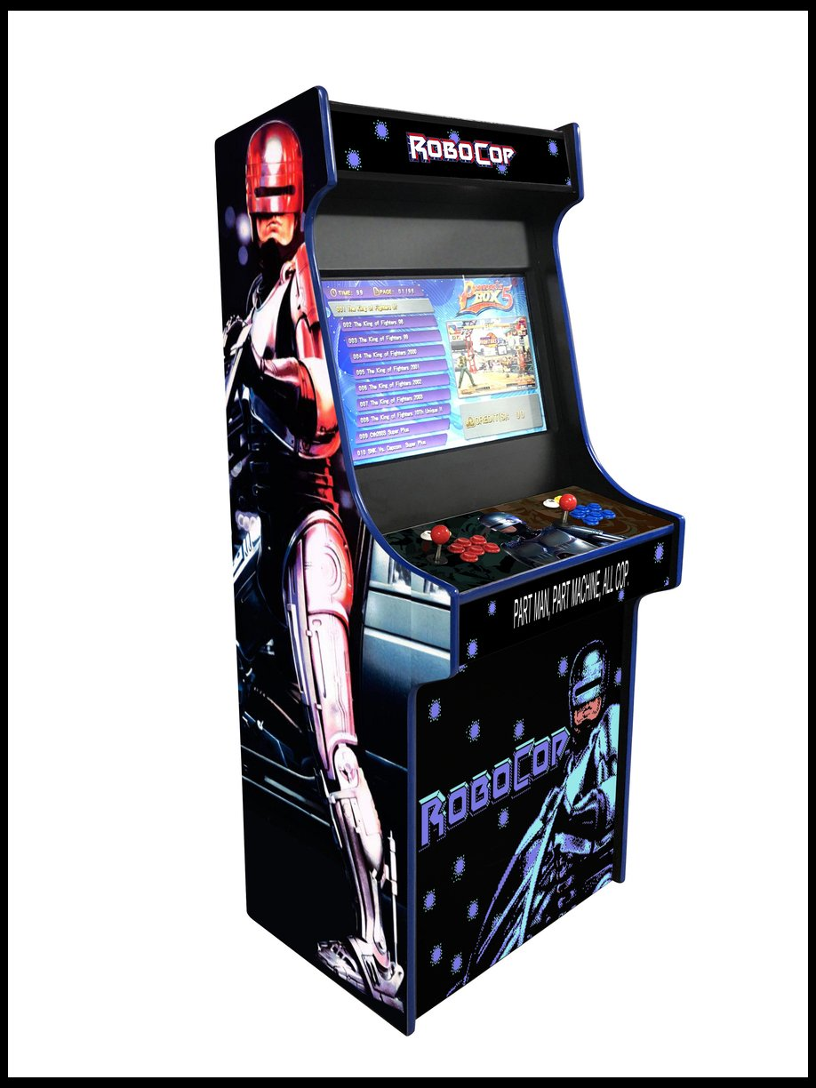 Robo Cop -  27 Inch Upright Arcade Cabinet - 1300 in 1