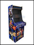 Sega mashup Artwork - 2 Player Full Size Cabinet