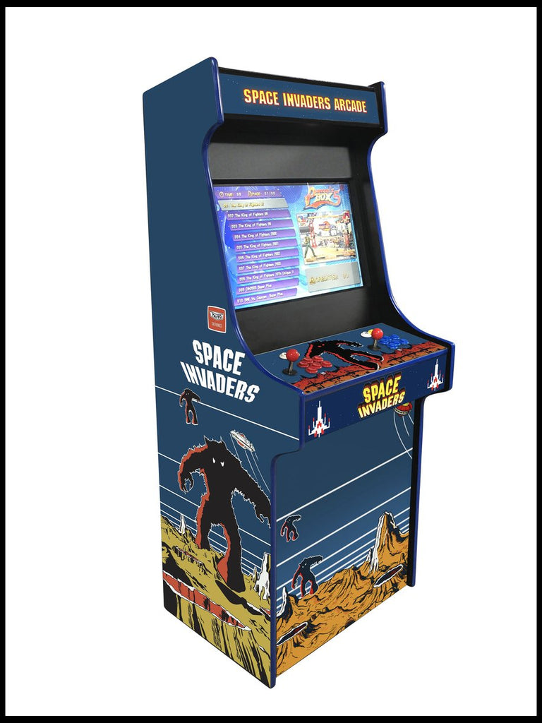 Space Invaders - 27 Inch Upright Arcade Cabinet