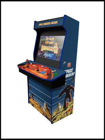 "Space Invaders - 4 Player  'Hydra' 32"" Upright Arcade Machine"