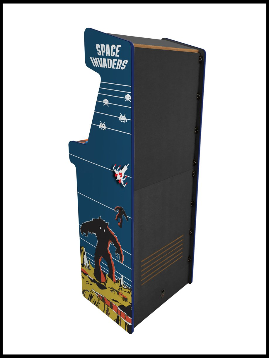 Space Invaders -  24 Inch Minotaur Arcade Cabinet - 1300 in 1