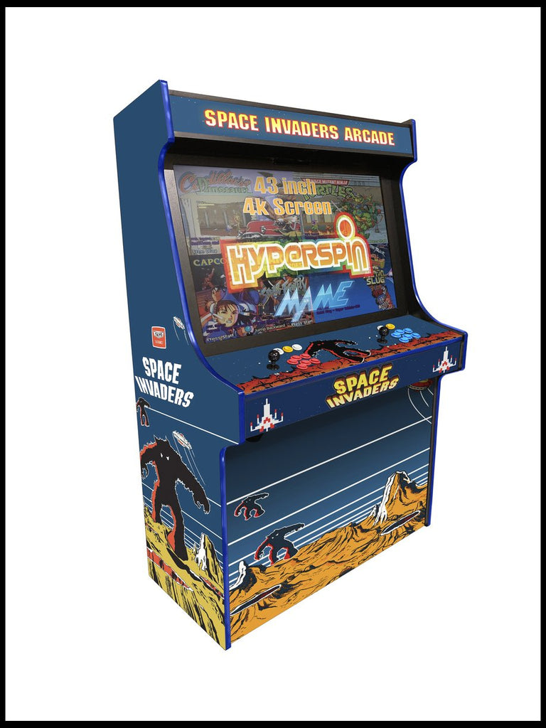 "Space Invaders -  'Typhon' 43"" Upright Arcade Machine"