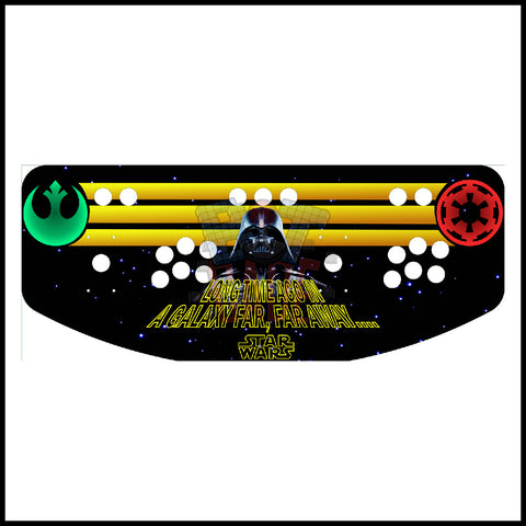 Star Wars Artwork - 2 Player Control Panel