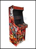 Street Fighter Artwork - 2 Player Full Size Cabinet