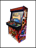 "Street Fighter - 4 Player 'Typhon' 43"" Upright Arcade Machine"