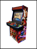 "Street Fighter - 4 Player 'Hydra' 32"" Upright Arcade Machine"