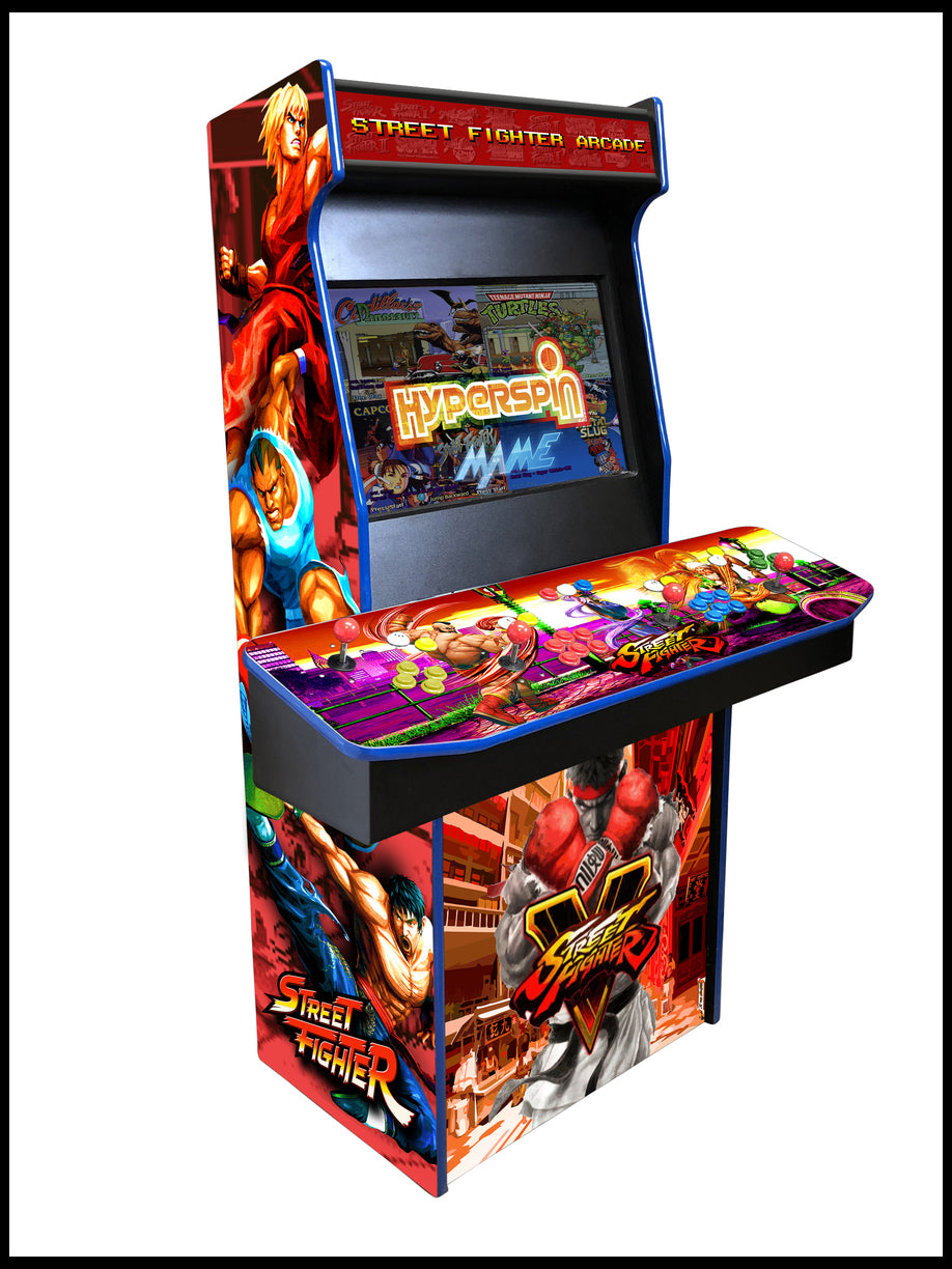 Street Fighter - 4 Player 27 Inch Upright Arcade Cabinet