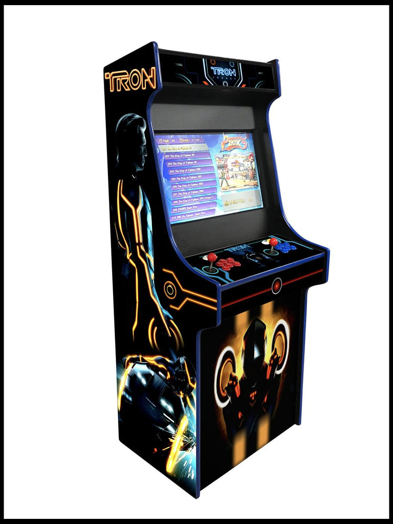 Tron  -  27 Inch Upright Arcade Cabinet