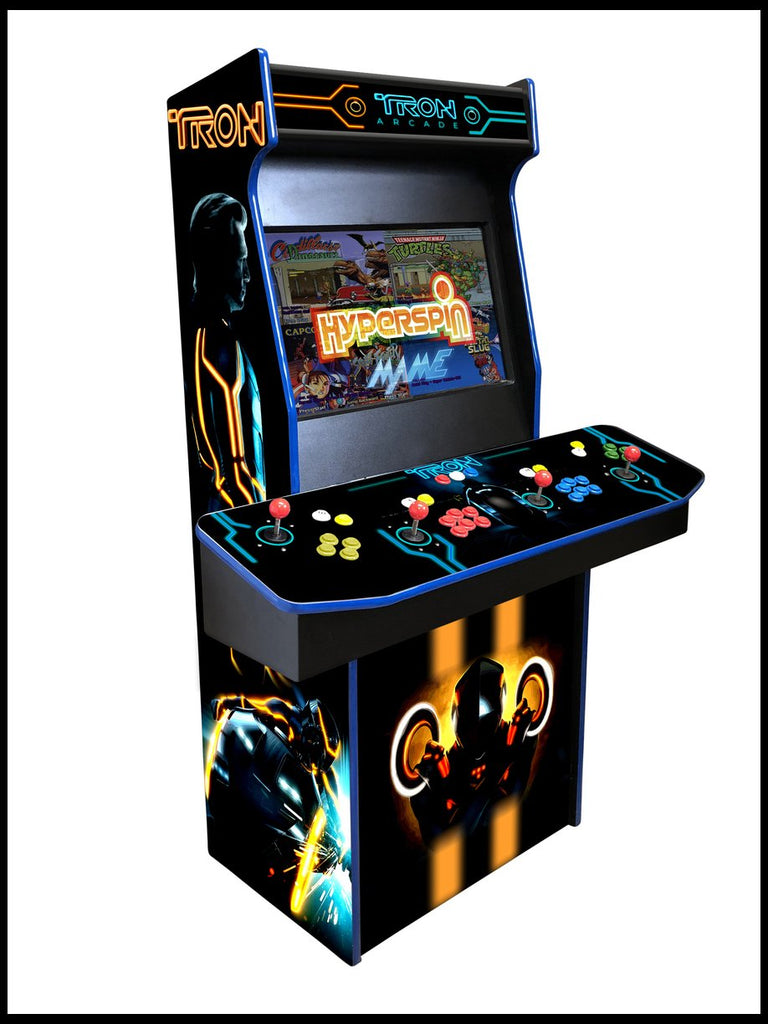 Tron - 4 Player 27 Inch Upright Arcade Cabinet