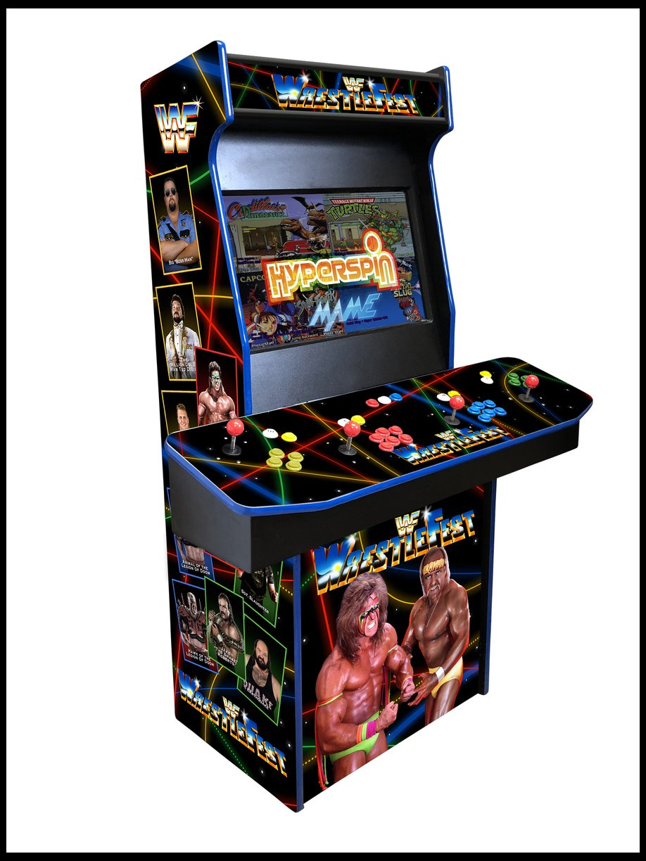 WWF WrestleFest  - 4 Player 27 Inch Upright Arcade Cabinet