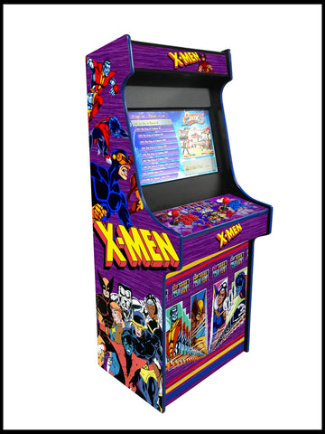 X Men - 27 Inch Upright Arcade Cabinet - 1300 in 1