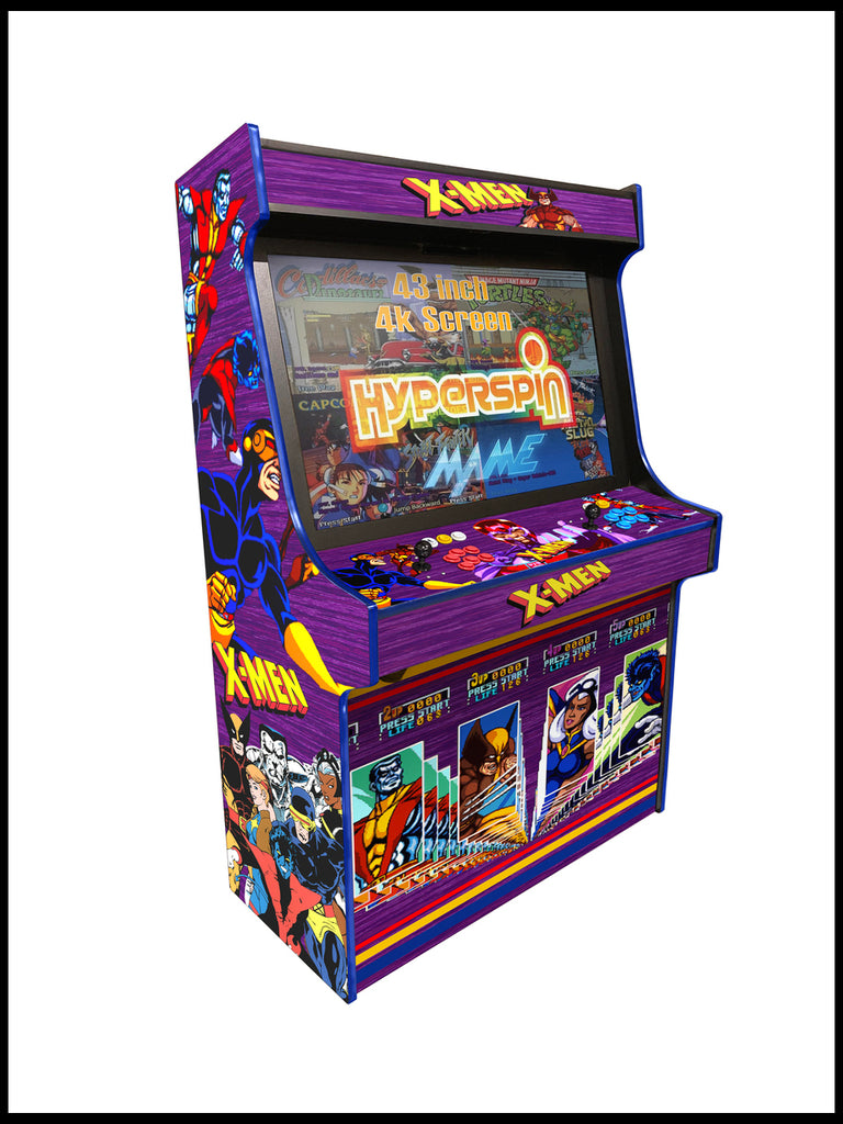 "Xmen -  'Typhon' 43"" Upright Arcade Machine"