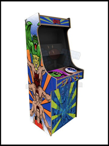 Altered Beast Artwork - 2 Player Full Size Cabinet