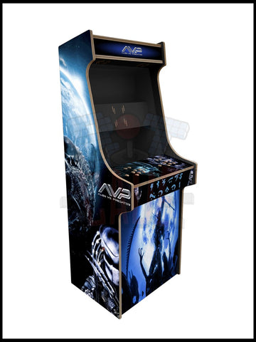 Alien Vs Predator Artwork - 2 Player Full Size Cabinet