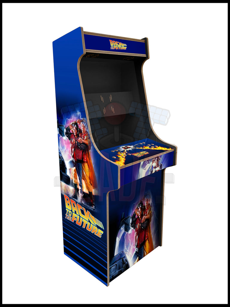 Back To The Future Artwork - 2 Player Full Size Cabinet