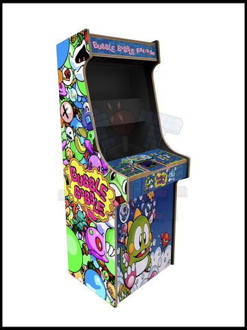 Bubble Bobble Artwork - 2 Player Full Size Cabinet