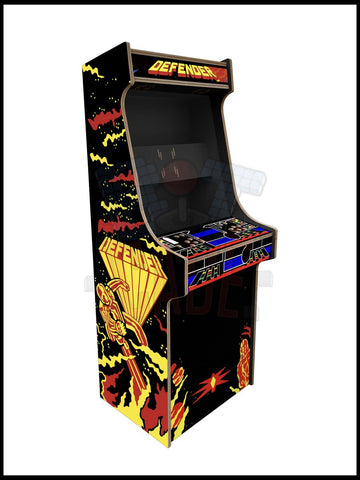 Defender Artwork - 2 Player Full Size Cabinet